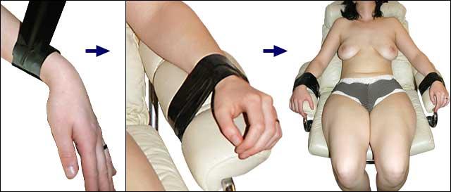 Bondage tape restrain wrap