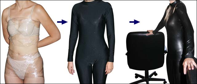 How to make a latex cat suit